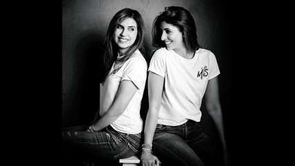 Monisha Jaising and Shweta Bachchan Nanda on MxS party collection