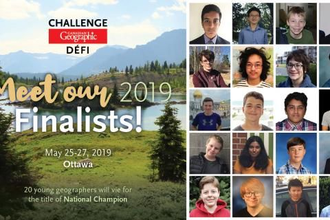 Meet the 2019 Can Geo Challenge National Finalists