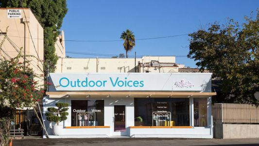 Outdoor Voices Opens Permanent Store in Los Angeles