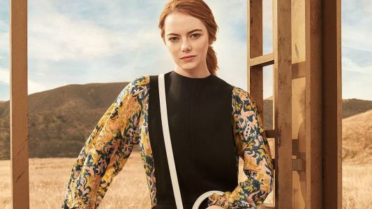Emma Stone and the California Desert Star in the Actress' First Louis Vuitton Campaign