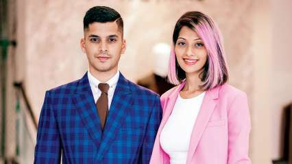 Our style is clean and structured: Sarah and Sandeep Gonsalves