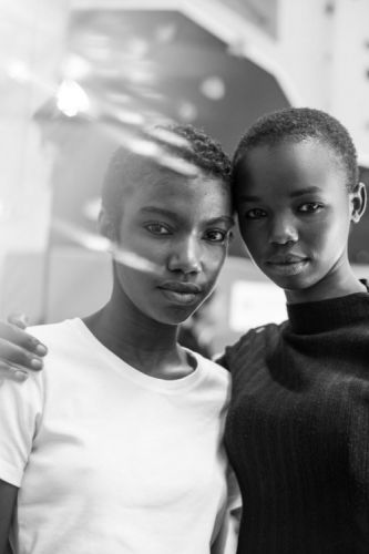 Jonathan Anderson's girls. See more of the best backstage photos