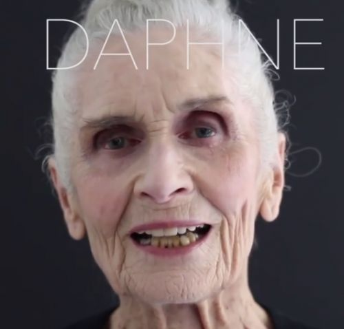Meet Daphne Self, the world's oldest supermodel and new face of Eyeko