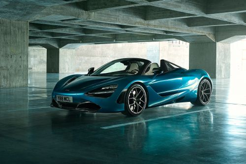 The 2019 McLaren 720S Spider is actually a race car with a number plate