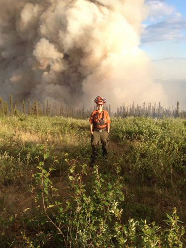 Firefighter Julie Stankevicius Is Leading The Battle Against Wildfires