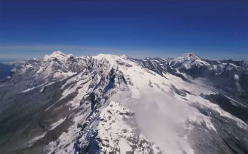 This footage of a racing drone soaring through the Swiss Alps will take your breath away