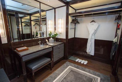 The Most Luxurious Hotel Closets in the World