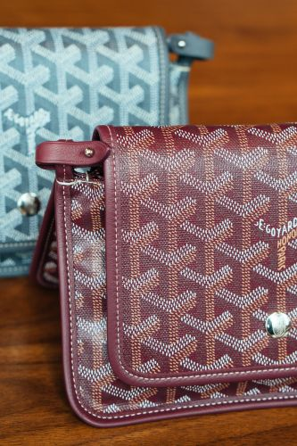 A Detailed Look at the Goyard Plumet Bag, One of the Brand's Newest Designs