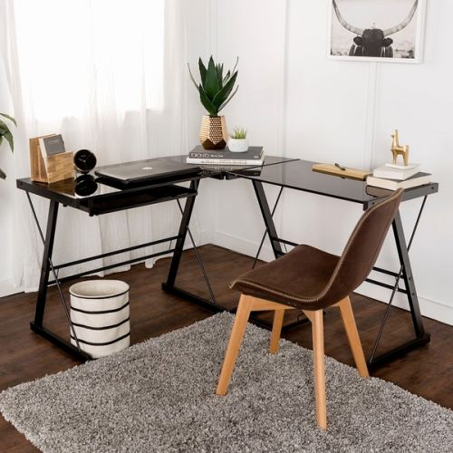 30 Fresh Black Glass L Shaped Desk Pictures