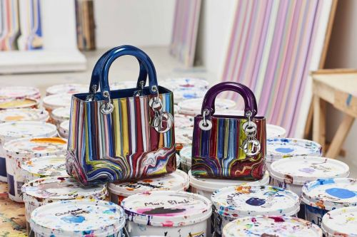 See how 11 female artists fashion the classic Dior Lady bag into works of art