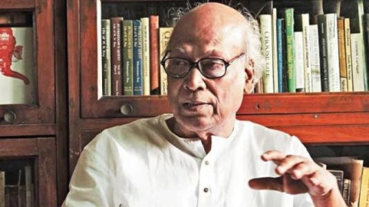 Celebrated Bengali poet Sankha Ghosh dies of Covid at 89 in Kolkata