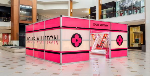 Louis Vuitton Unveils Twist Cube Pop-Up at the Aventura Mall