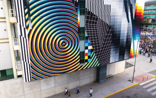 Drips: Felipe Pantone's Eye-Catching Style Speaks to a Fast Generation