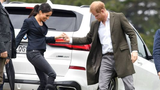 Meghan Markle Wore a Thing: Waterproof Rubber Muck Boots in New Zealand Edition