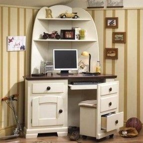 20 Awesome White Corner Desk with Hutch Pics