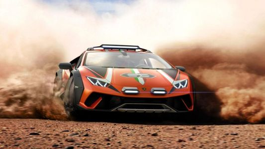 Behold the Huracan Sterrato, the off-roading Lamborghini supercar you didn't ask for
