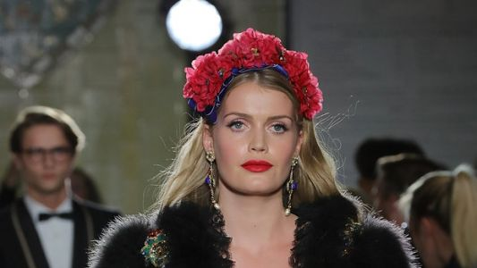 Lady Kitty Spencer, Princess Diana's Niece, Walks Runway For Dolce & Gabbana
