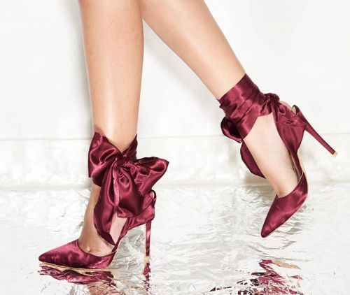 Weekly Obsessions: Muse on the Move Plum Stilettos, Vatanika Ruffle Pencil Skirt, Fresh Lotus Face Cream and more