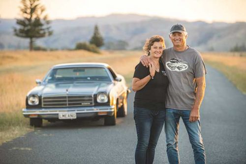 Meet the Gisborne farmer who gave up a new kitchen for her 1974 El Camino ute