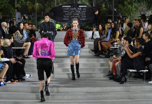 Louis Vuitton Brought a Flight of Fancy to JFK Airport for Resort 2020