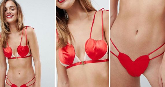 ASOS is selling some questionable Valentine's lingerie which literally nobody asked for