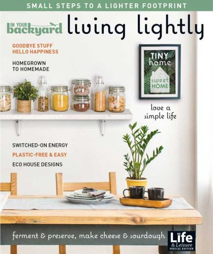 In your Backyard: Living Lightly online extra resources