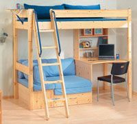 20 Awesome Boys Bunk Bed with Desk Pictures