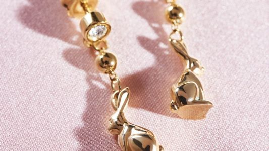Prada debuts its fine jewellery collection in gold and diamonds