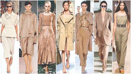 Beige bulletin: The neutral hue ruled the Spring Summer 2019 landscape