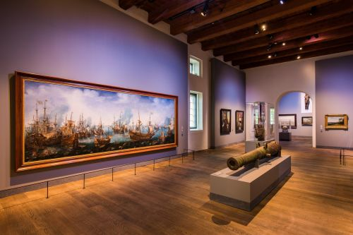 Het Scheepvaartmuseum in Amsterdam: Opening of New Main Gallery with Exhibition 'Republic at Sea'