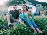 Parents swap the suburban life for living on the open road in an Airstream trailer with their 3 kids