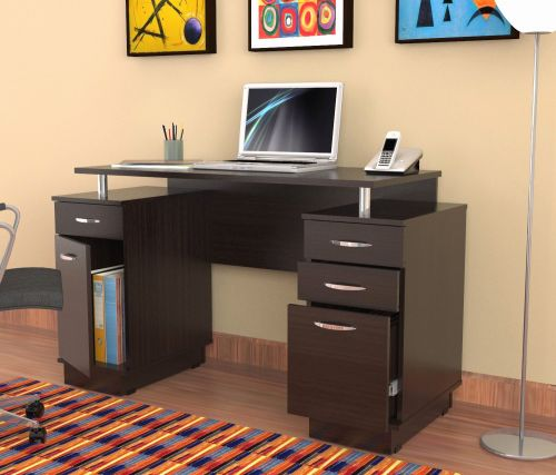 20 Best Of Narrow Desk with Drawers Pictures