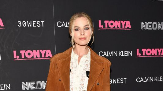 Margot Robbie Donned Head-to-Toe Calvin Klein to Promote Her New Film