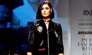 Nargis Fakhri's shimmery pants to lots of glam: Day 1 at Amazon India Fashion Week