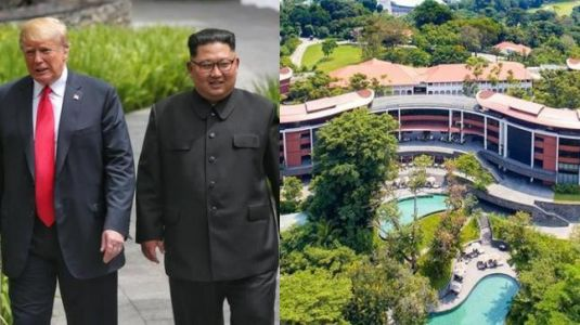 How much will it cost you to stay in Singapore hotel Trump and Kim are in?