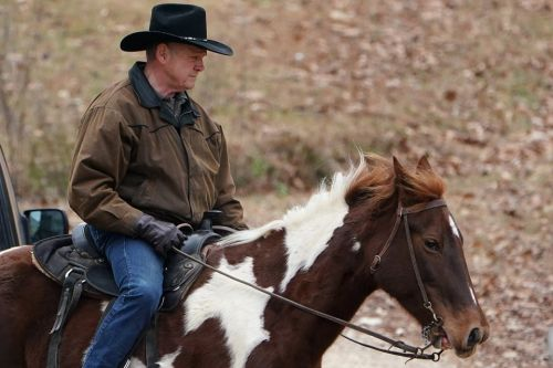 Roy Moore rode to the polls as a cowboy after spending an entire campaign in costume