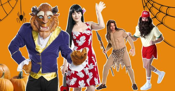 Top five most searched couples Halloween costumes