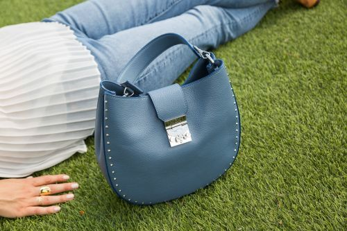 Strolling Through Summer With the MCM Patricia Studded Hobo