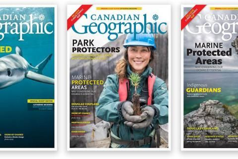 Help us choose the November/December 2018 Canadian Geographic cover!