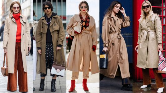 The Street Style Crowd Closed Out London Fashion Week With Classic Trench Coats