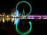 Landmarks in 48 countries light up for St Patrick's Day