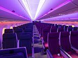 Inside Qatar Airways' new A350-1000 aircraft