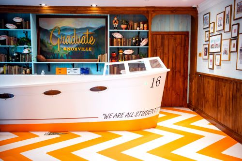 See inside the new Graduate Knoxville hotel, where Peyton Manning helped design the theme