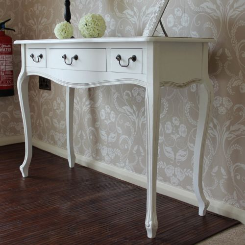 49 Luxury White Console Table with Drawers Images