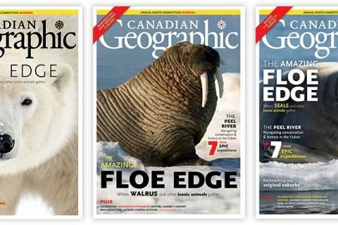 How we chose the cover: May/June 2019 Canadian Geographic