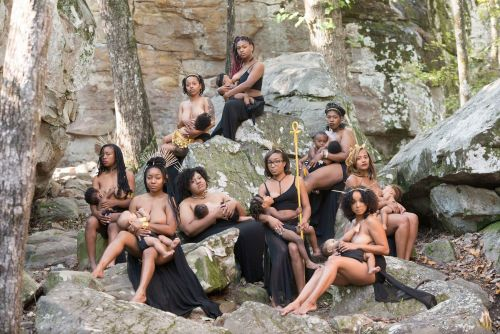 These nine women are challenging breastfeeding taboos through this powerful photoshoot