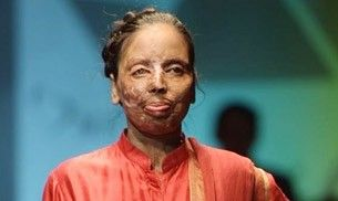 These acid-attack survivors walked the ramp for charity