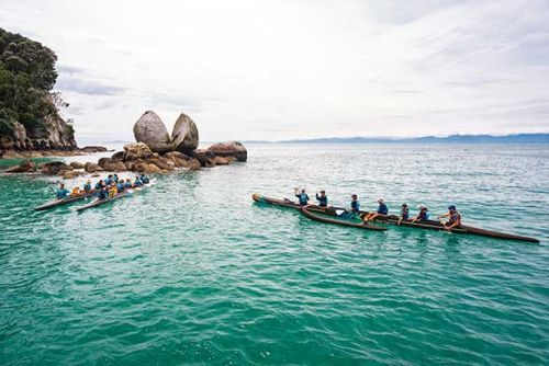 Be in to win a three-hour group paddling trip for four people from Waka Tours in Abel Tasman, valued at $360