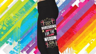 These 'bridal' gym leggings might make you be sick in your mouth