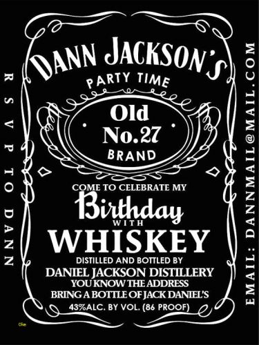 30 Fresh Blank Jack Daniels Label Template Images